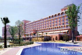 ホテルセキアの外観