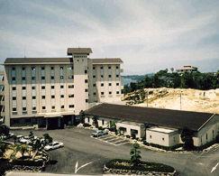 松島観光ホテル岬亭の外観