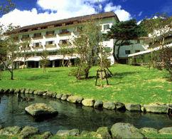 九重星生ホテルの外観