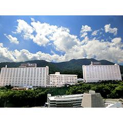 杉乃井ホテル 本館の外観