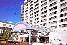 杉乃井ホテル HANA館の外観