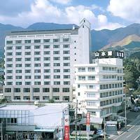 ホテル山水館の外観