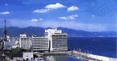 花菱ホテルの外観