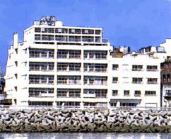 海薫る宿 ホテルニュー松実の外観