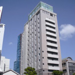 ホテルルートイン宮崎の外観