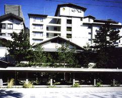 花の温泉ホテル吟松の外観