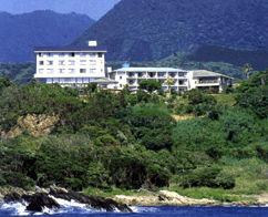 屋久島グリーンホテルの外観