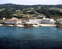 ホテルみゆきビーチの外観