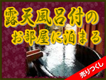 【Webコレクション】ご宿泊の1ヶ月前から発売!露天風呂があるお部屋の宿★房総