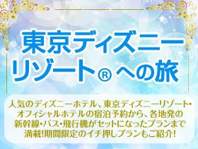 東京ディズニーリゾート(R)への旅 ※パークチケットは含まれておりません