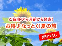 【ご宿泊の1ヶ月前から発売!】お得なっとく!夏の旅