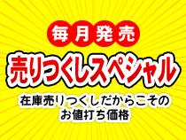 【毎月発売!】売りつくしセール!☆