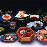 [東山山荘]夕食一例