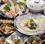 ふぐ会席料理(イメージ/4名様盛)