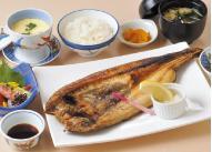 釧路産ほっけ定食