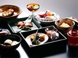 昼の納涼料理(一例)