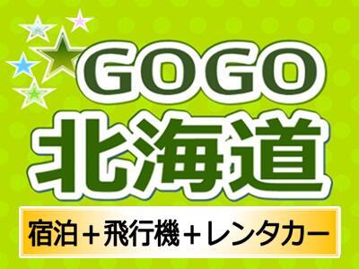 GOGO北海道<3日間>滞在中Sクラスレンタカー付♪